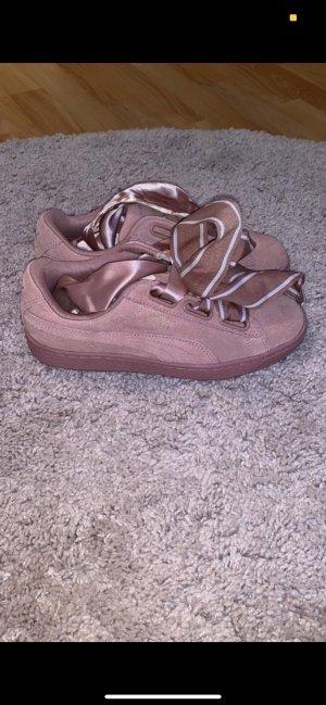 Puma Sneakers met veters roze-roségoud