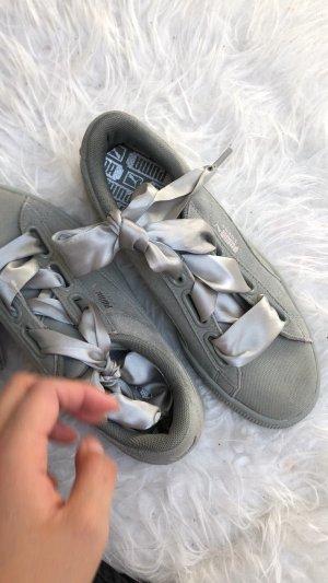 Puma SUEDE HEART Sneaker low rock ridge
