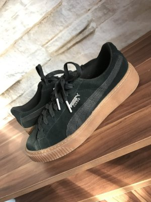 Puma Lace-Up Sneaker black