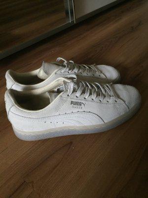 Puma Suede Ref Iced whisper white Schuh beige