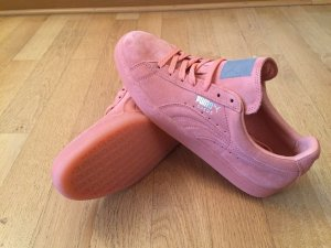 Puma Suede rosa pink Größe 42 Schuhe sneaker