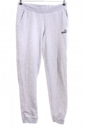 Puma Sweat Pants light grey allover print casual look