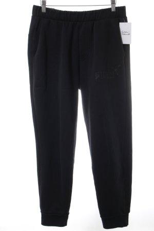 Puma Sweathose schwarz sportlicher Stil