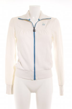 Puma Sweat Jacket cream-turquoise casual look