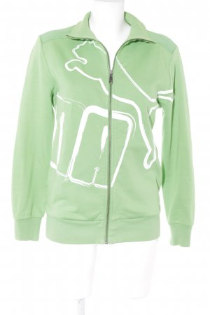 Puma Sweatjacke grün Casual-Look