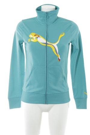 Puma Sweatjacke Motivdruck sportlicher Stil