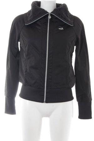 Puma Sweatjacke schwarz sportlicher Stil