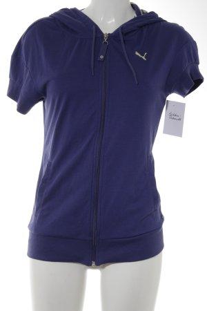 Puma Sweatshirt blauviolett sportlicher Stil