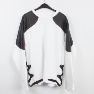 PUMA Sweatshirt Gr. L schwarz weiß (18/9/535)