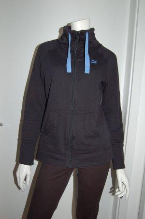 Puma Veste de sport noir coton