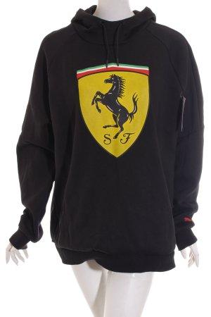 Puma Sweatshirt Motivdruck sportlicher Stil