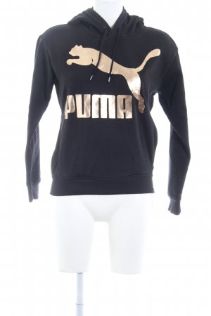 Puma Sweat Shirt black-rose-gold-coloured casual look
