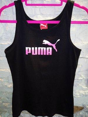 Puma T-shirt in gr 36 Schwarz Neon Neu