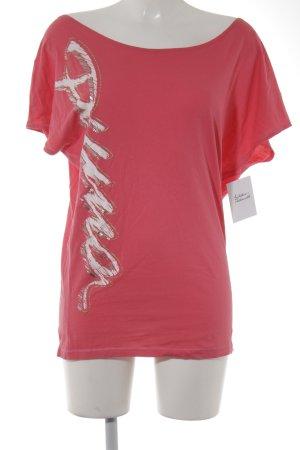 Puma T-Shirt magenta sportlicher Stil