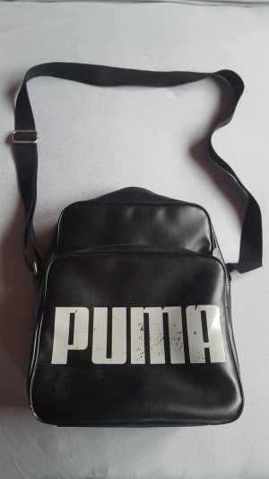 Puma Crossbody bag white-black