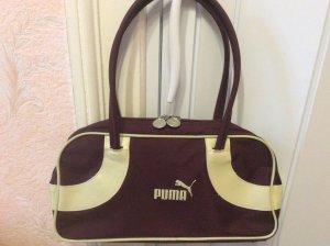Puma Handbag bordeaux synthetic material