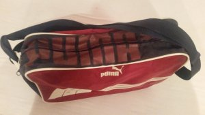 Puma Canvas Bag carmine