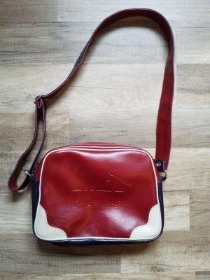 Puma Tasche/ Umhängetasche aus Leder