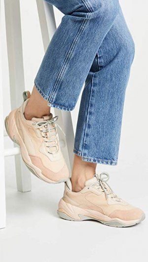 Puma Lace-Up Sneaker beige-nude