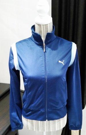 Puma Trainingsjacke Jacke blau 34 XS Damen