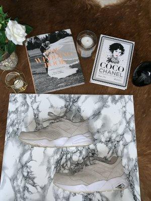 Puma Lace-Up Sneaker oatmeal-cream