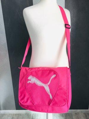 Puma Bolsa de gimnasio rosa