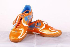 Puma v 5.10 Damensportschuhe orange-blau WIE NEU