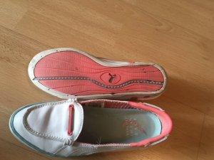 Puma Sailing Shoes multicolored leather