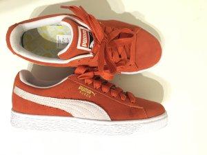 Puma Wildleder sneaker Orange