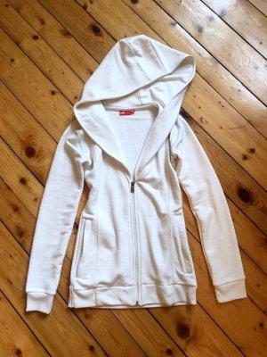Puma Work Out & Yoga Jacket, Größe S // Weiss(beige) // XXL Kapuze