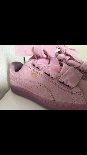 Puma x Cara Delevingne Suede Heart Reset Prism Pink