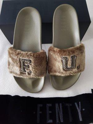 Fenty Puma by Rihanna Claquette vert olive