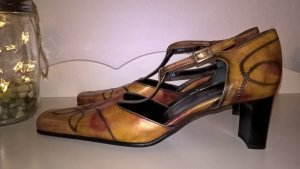 Belmondo T-Strap Pumps multicolored leather