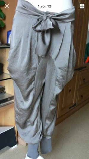 Pantalone cargo grigio-antracite