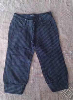 Firetrap Pantalon large noir coton