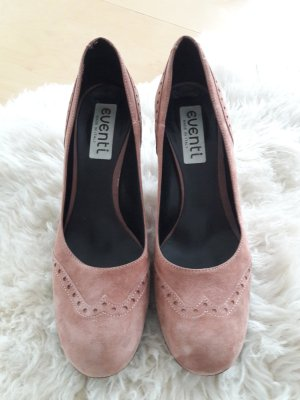 High Heels pink-dusky pink leather
