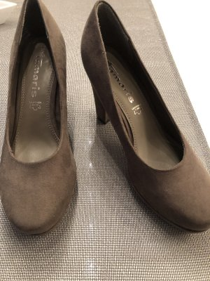 Tamaris Tacones con plataforma marrón grisáceo