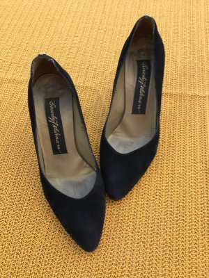 Beverly Feldman High Heels black suede