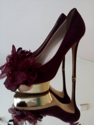 Pumps 40 Weinrot Le Silla Gold