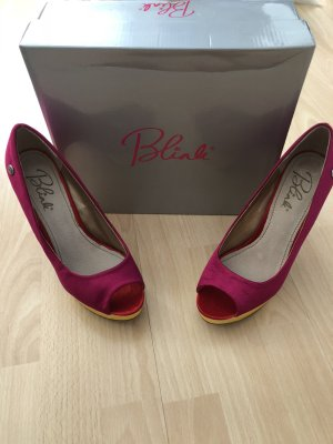 Blink Platform Pumps multicolored
