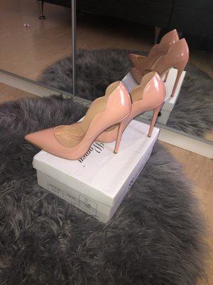 Amazone High Heels beige-nude