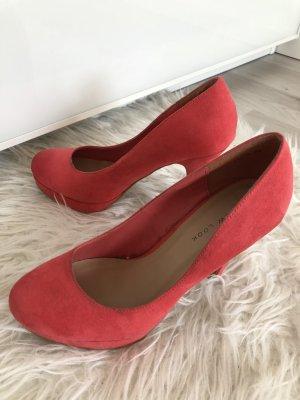 New Look Tacco alto rosso chiaro