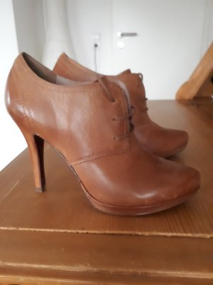 5th Avenue Pumps met hoge zool cognac