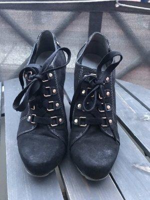 Graceland Escarpins à lacets noir