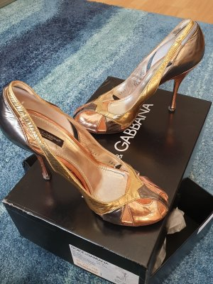 Dolce & Gabbana High Heels rose-gold-coloured