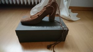 Kennel und Schmenger Lace-up Pumps brown leather