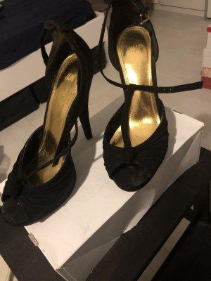 H&M Décolleté con plateau nero