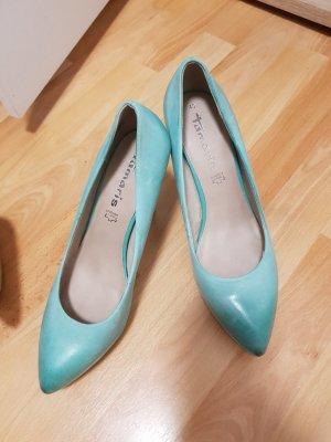 Tamaris Wedge Pumps turquoise