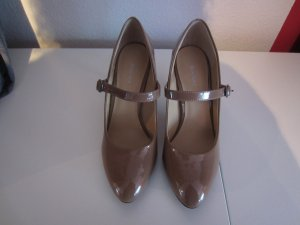 Deichmann Escarpins Mary Jane beige