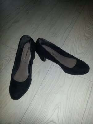 Pumps aus Velourleder